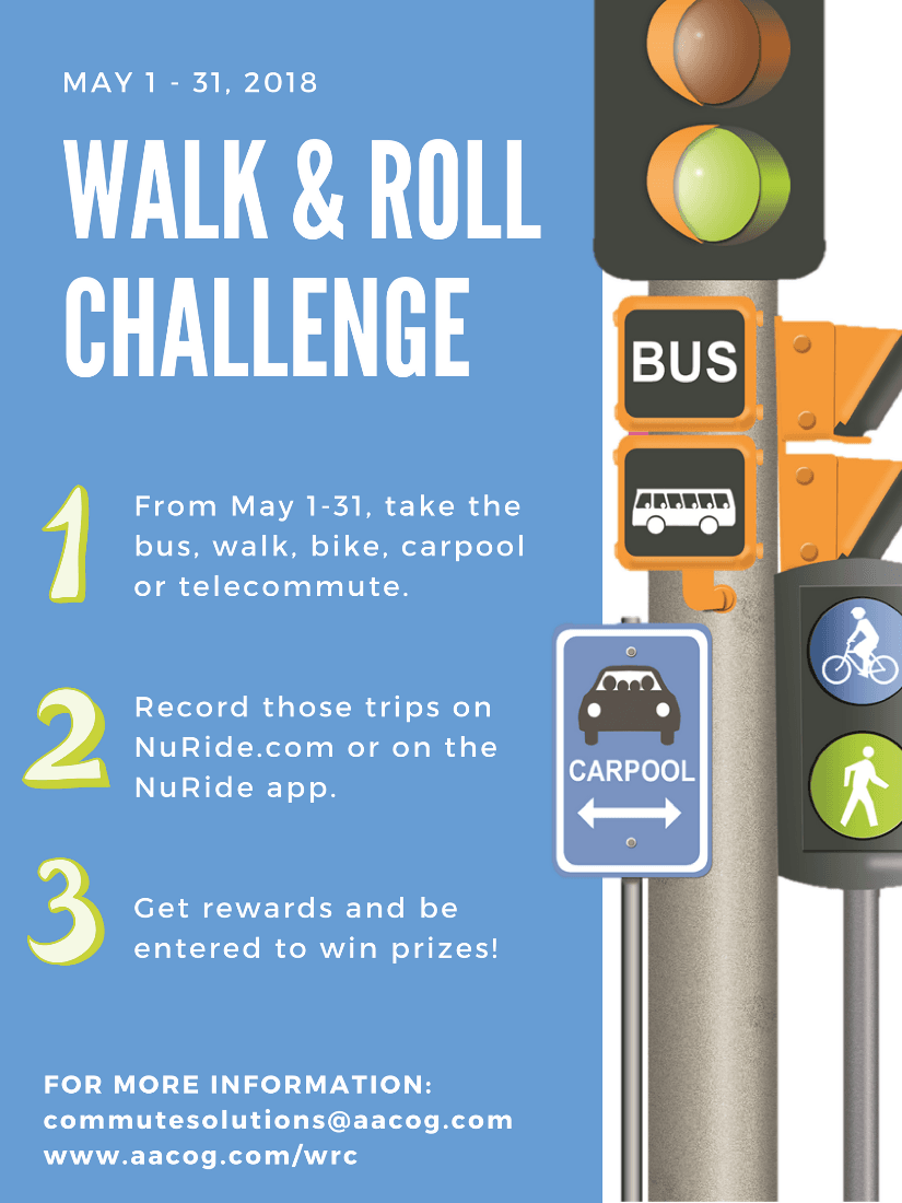 walk and roll 2018
